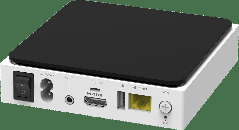 TV-Box IP1200 Hinten